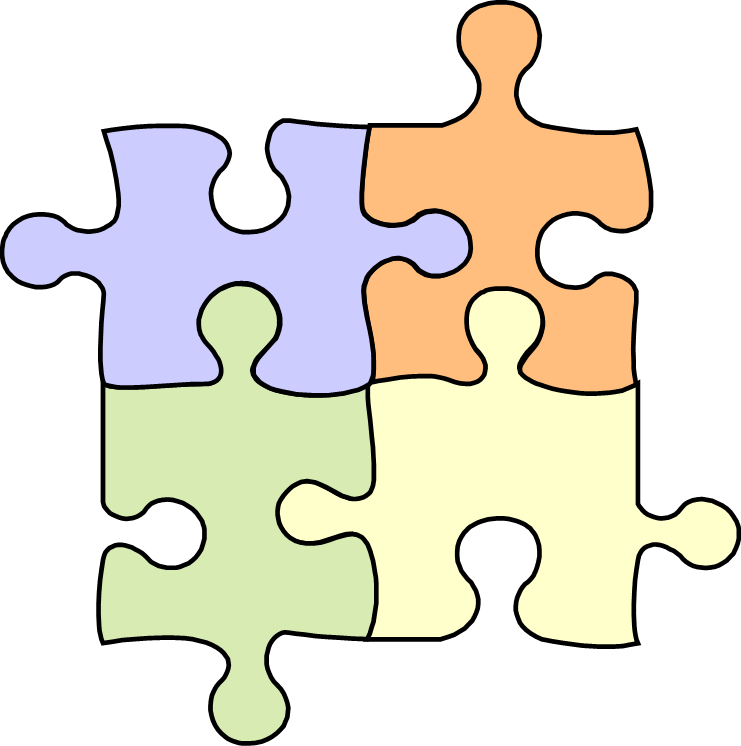 Puzzle clipart yellow. Stewardship of service pieces