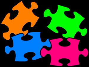 Puzzle clipart scenario. Puzzled clip art at