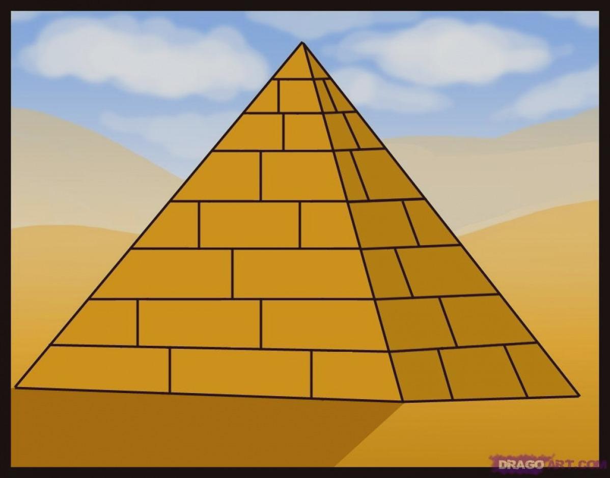 Wonderful of clip art. Pyramid clipart