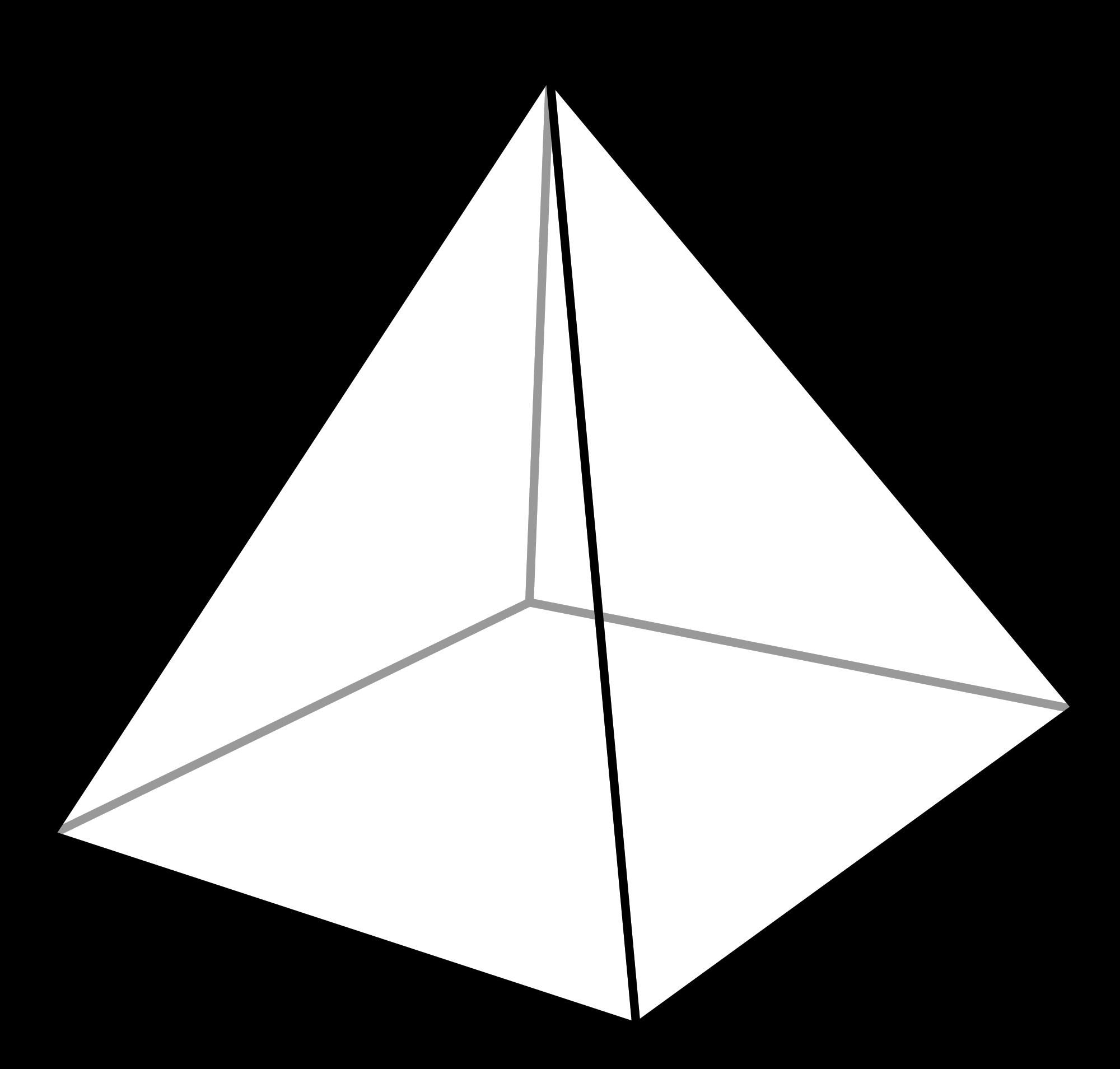 Cone 3d pyramid