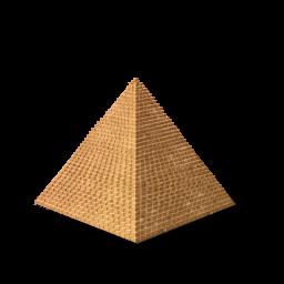 Icon png image iconbug. Pyramid clipart