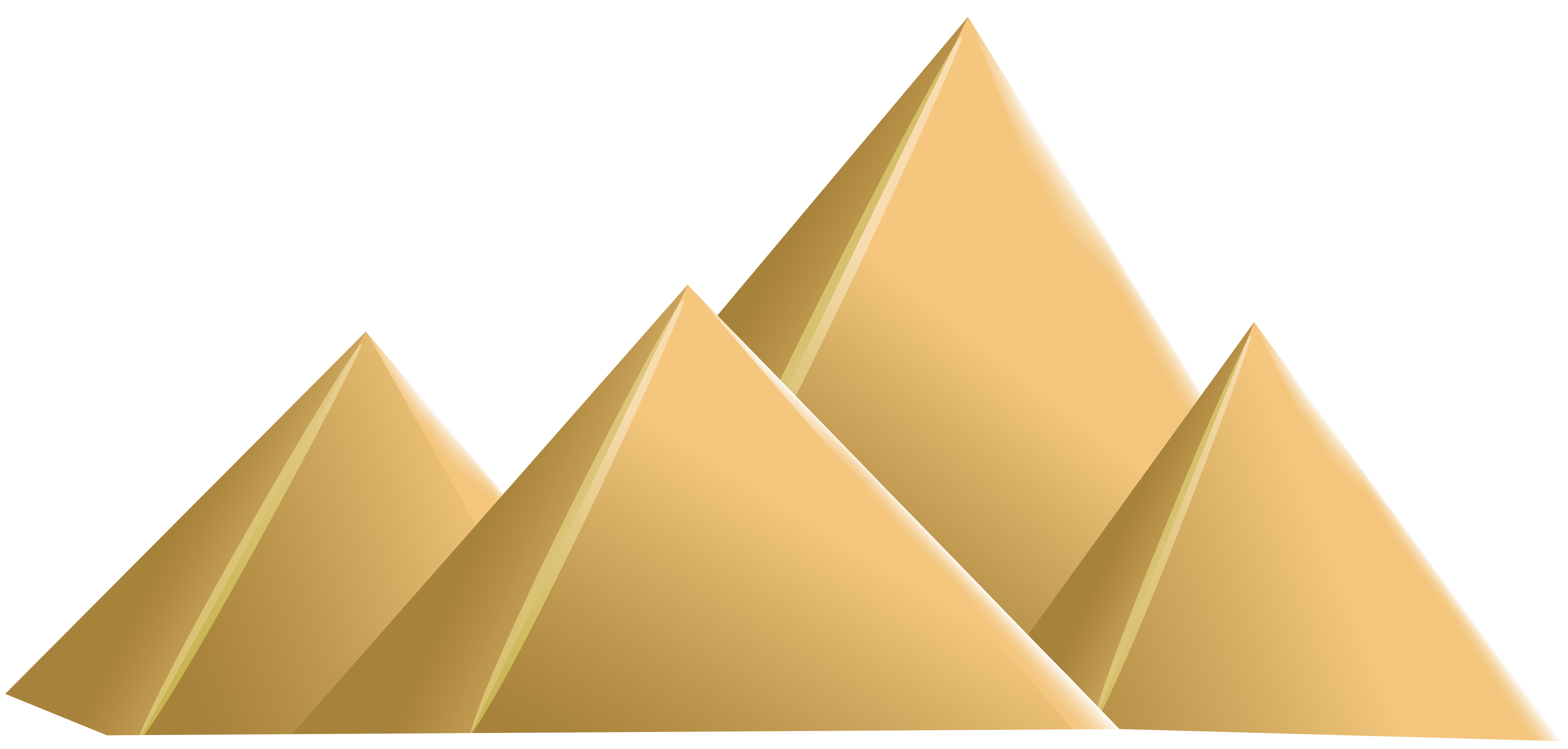 Egyptian png clip art. Pyramids clipart