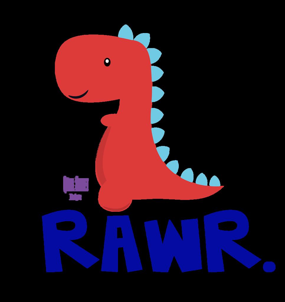 Rawr dinosaur vinyl decal. Quail clipart baby quail