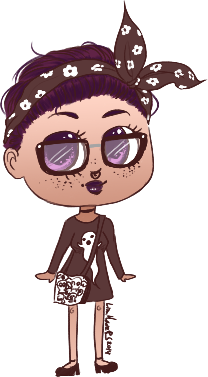 Spooky hipster by anolee. Quail clipart chibi