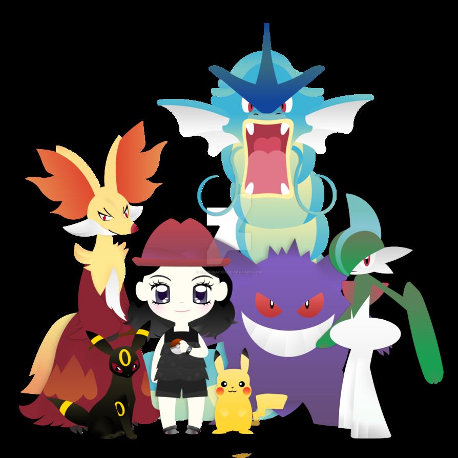 The team pokemon by. Quail clipart chibi