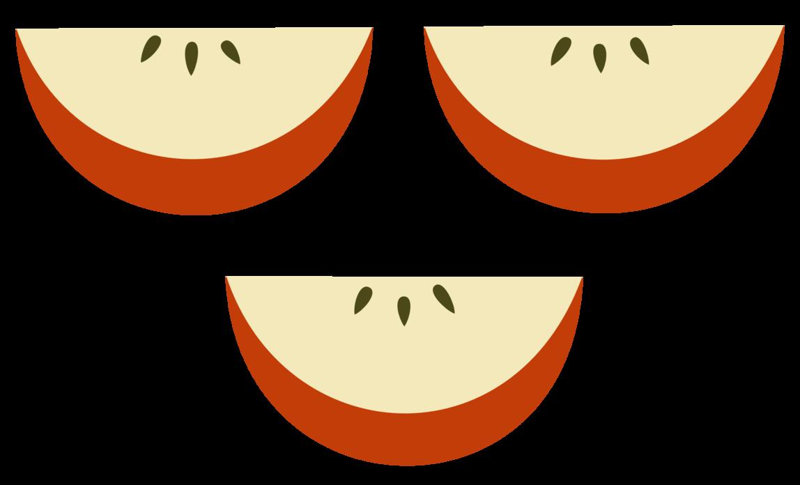 Quail clipart mark. Apple slices gucciguanfangwang me