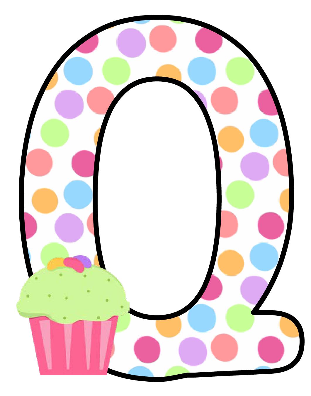 Ch b alfabeto cupcake. Queen clipart alphabet q