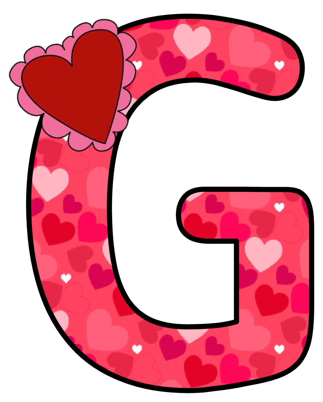 Queen clipart alphabet q. Ch b alfabeto corazon
