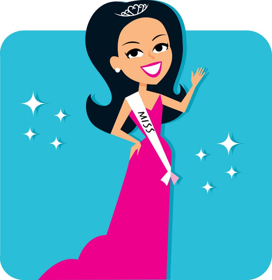 Queen clipart beauty queen. Pageant crown clip art