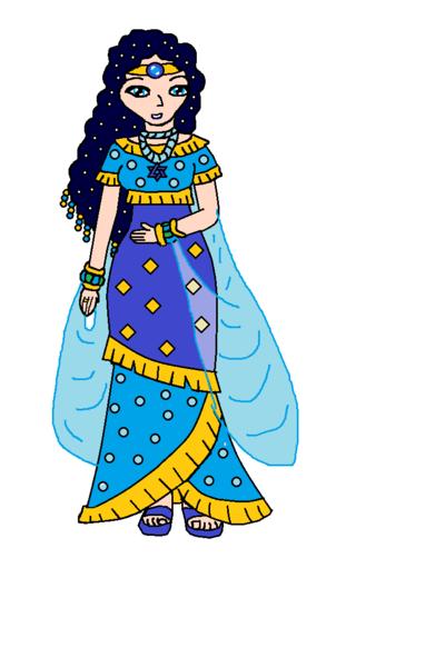Queen clipart bible. Woman cartoon illustration