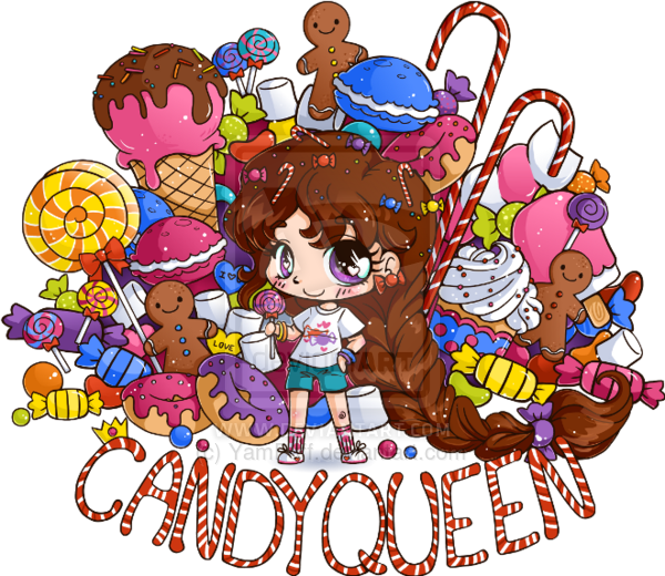 Queen clipart candy. Boba network description url