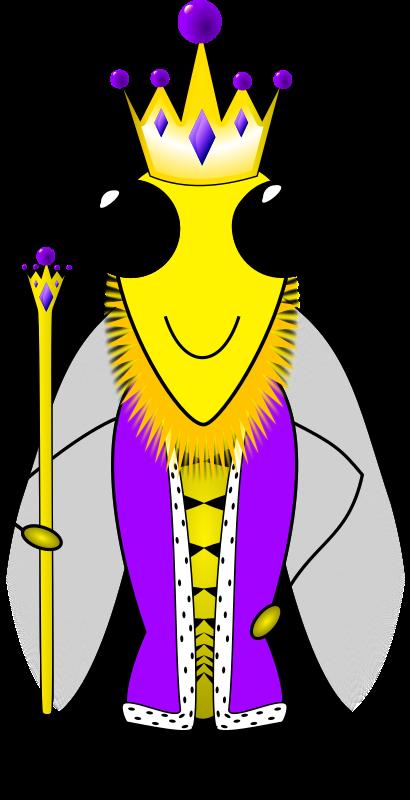Queen clipart cartoon. Free clip art bay