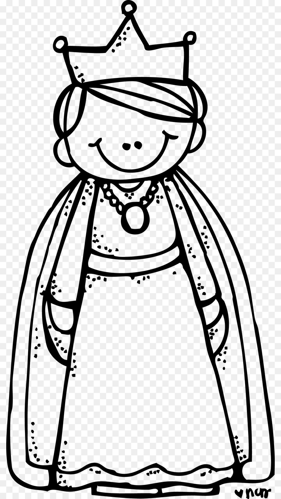 Queen clipart drawing. Book black and white