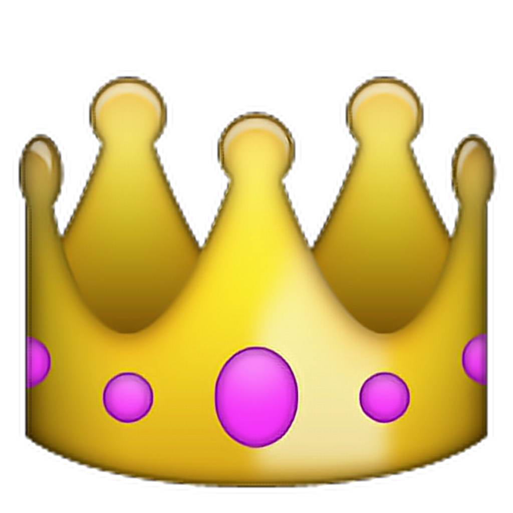 Queen clipart emoji. Pngpngedit emotions iphone cool