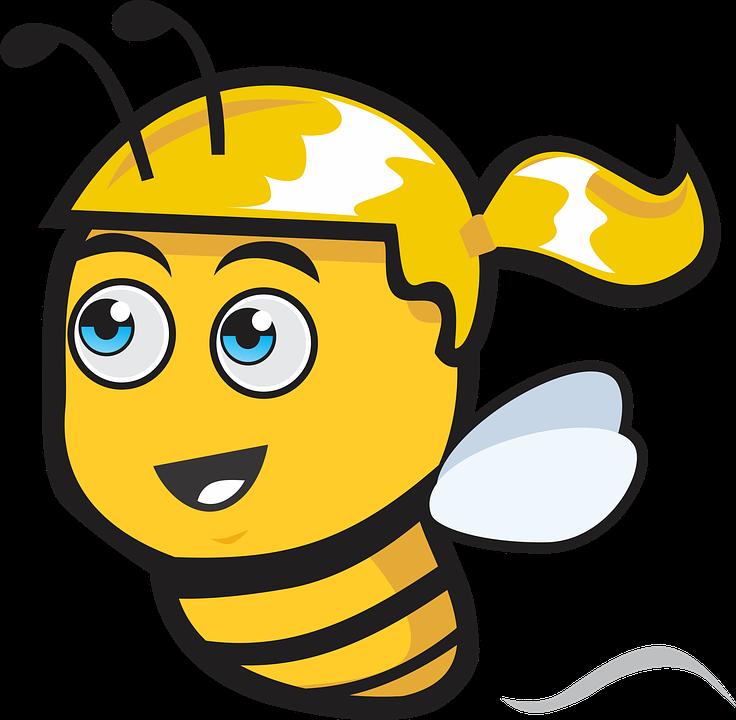 Queen clipart gambar. Bee cartoon shop of