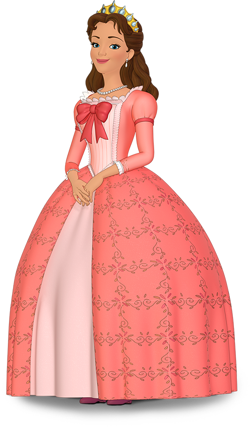 Queen clipart happy king. Miranda sofia the first