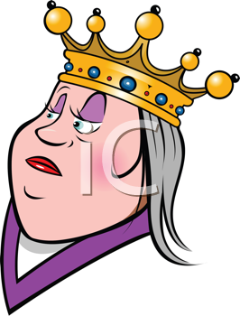 Queen clipart head. Iclipart royalty free image