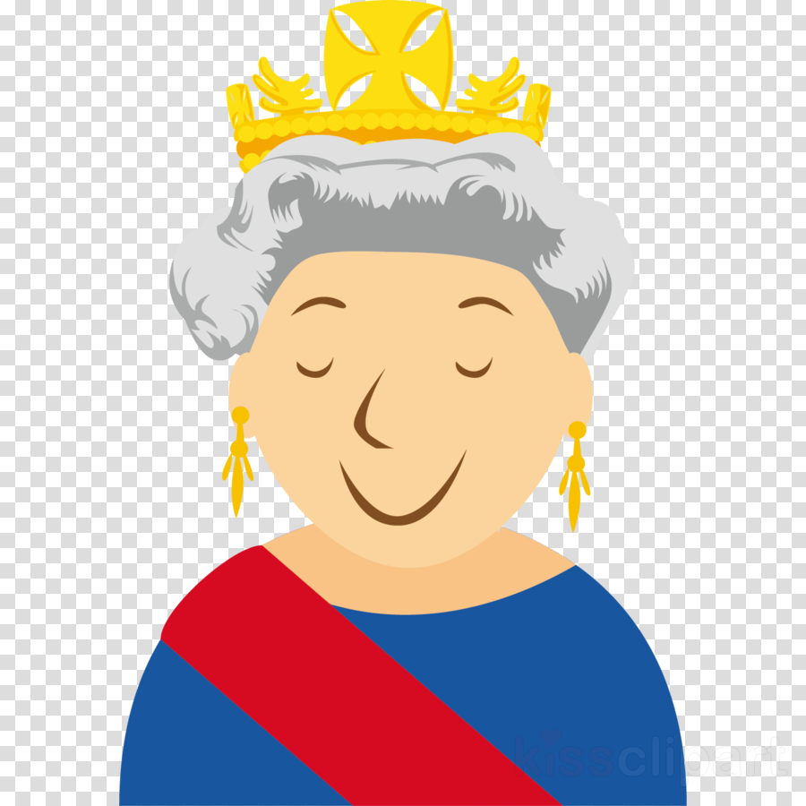 Queen clipart head. Drawing of family cartoon