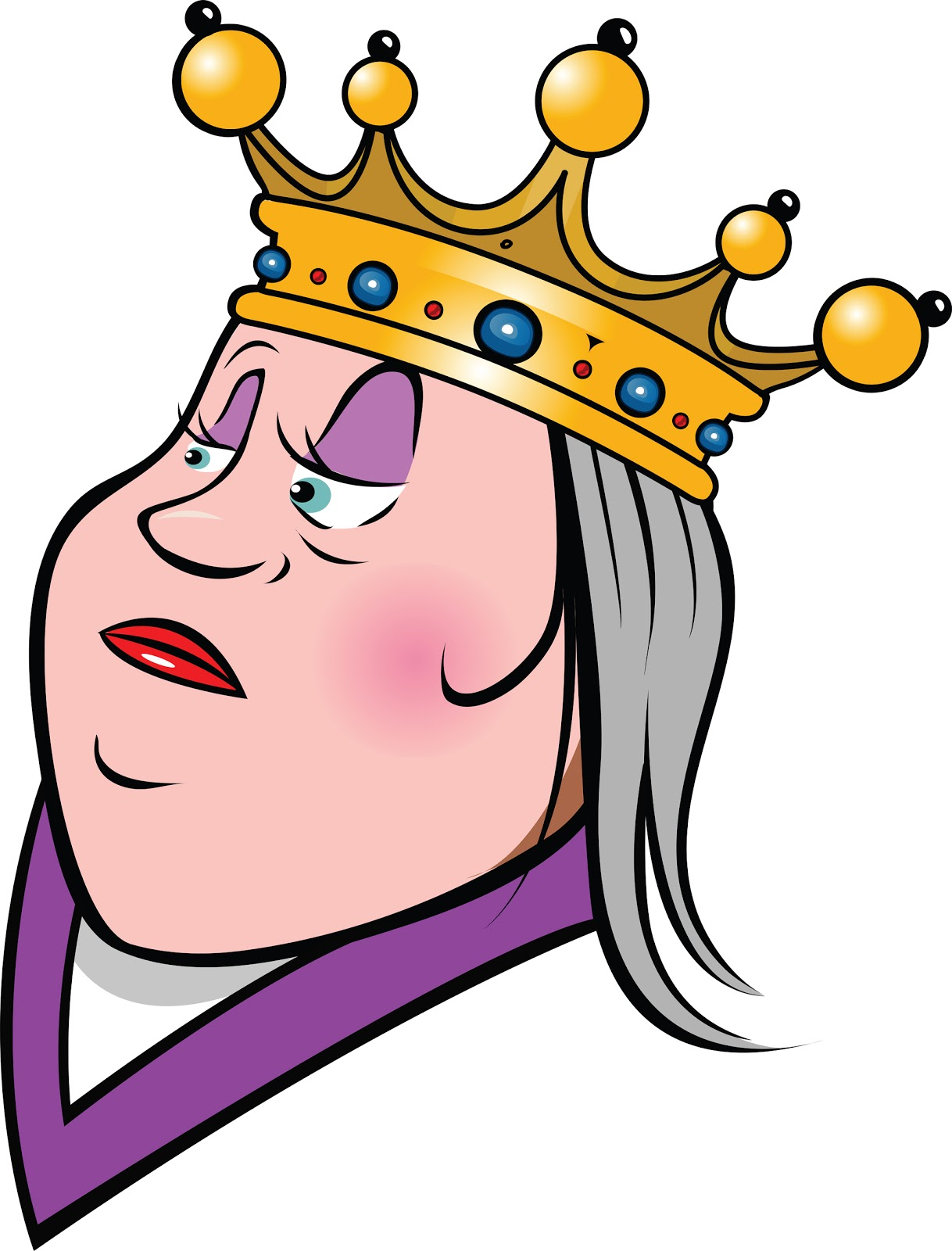 Free animated cliparts download. Queen clipart old queen