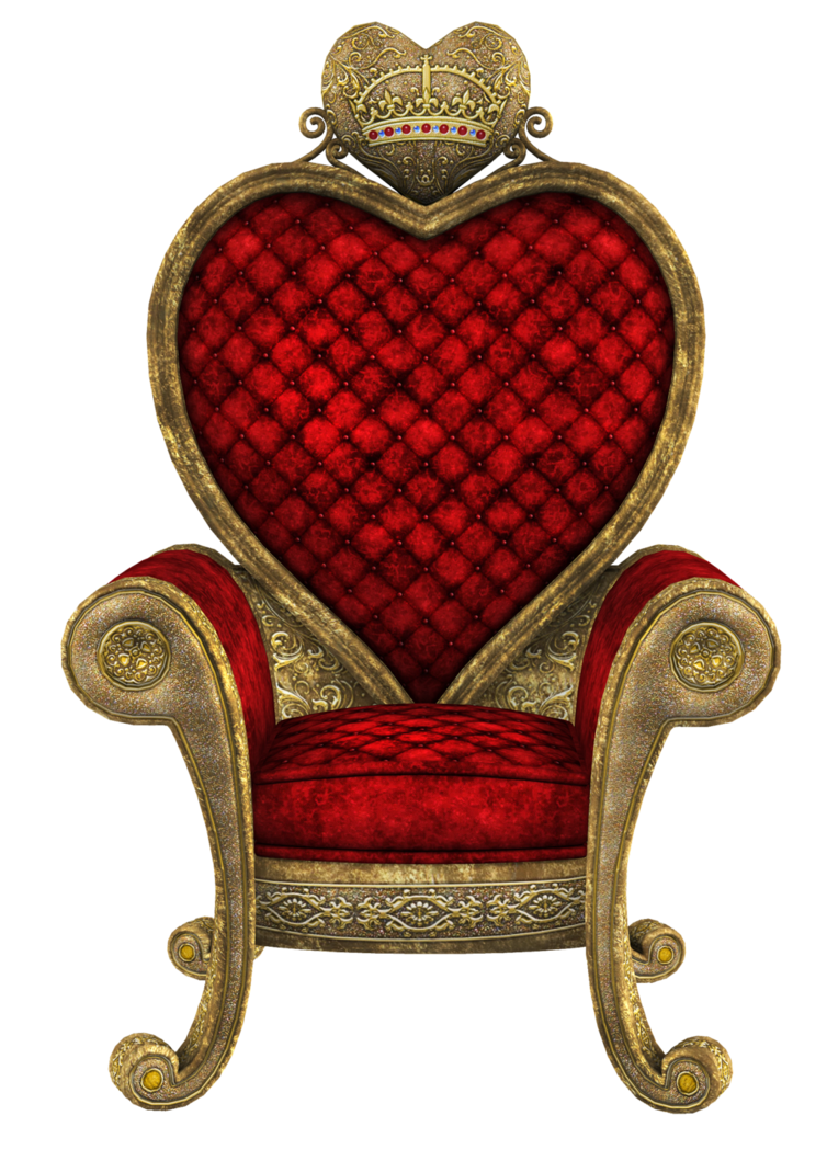 Queen clipart outrageous. Unrestricted of hearts throne