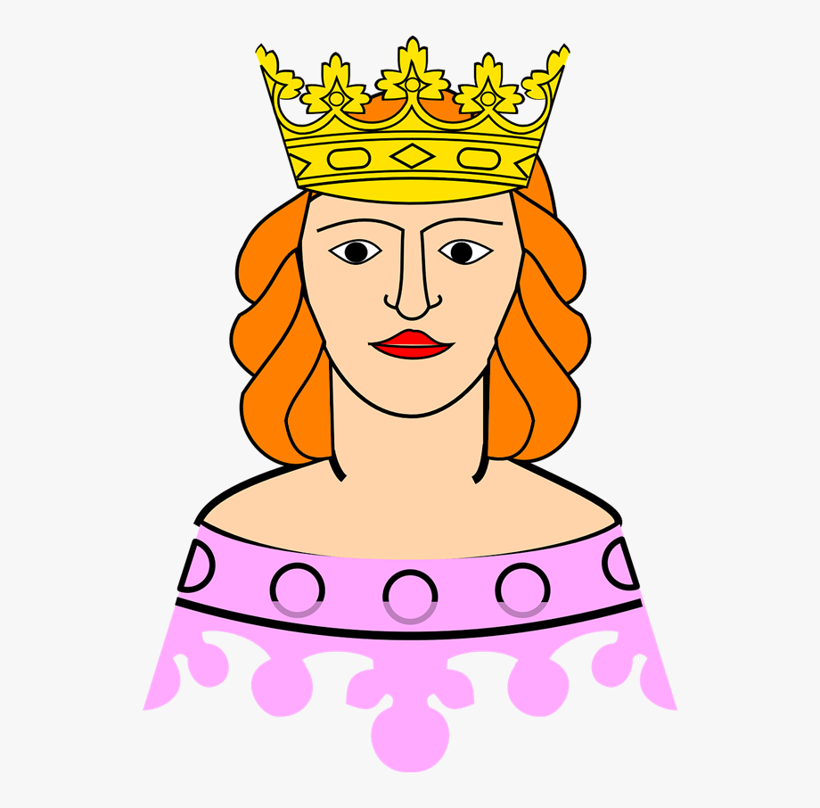 Cute clip art of. Queen clipart printable
