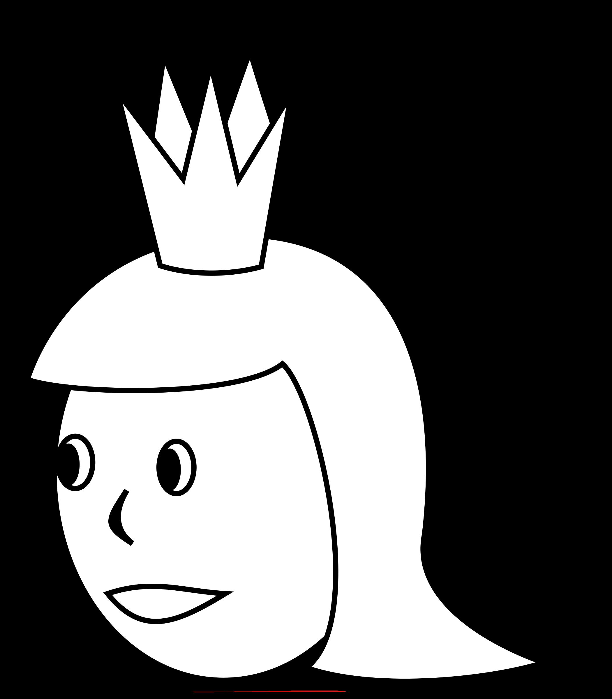 S head line art. Queen clipart q queen