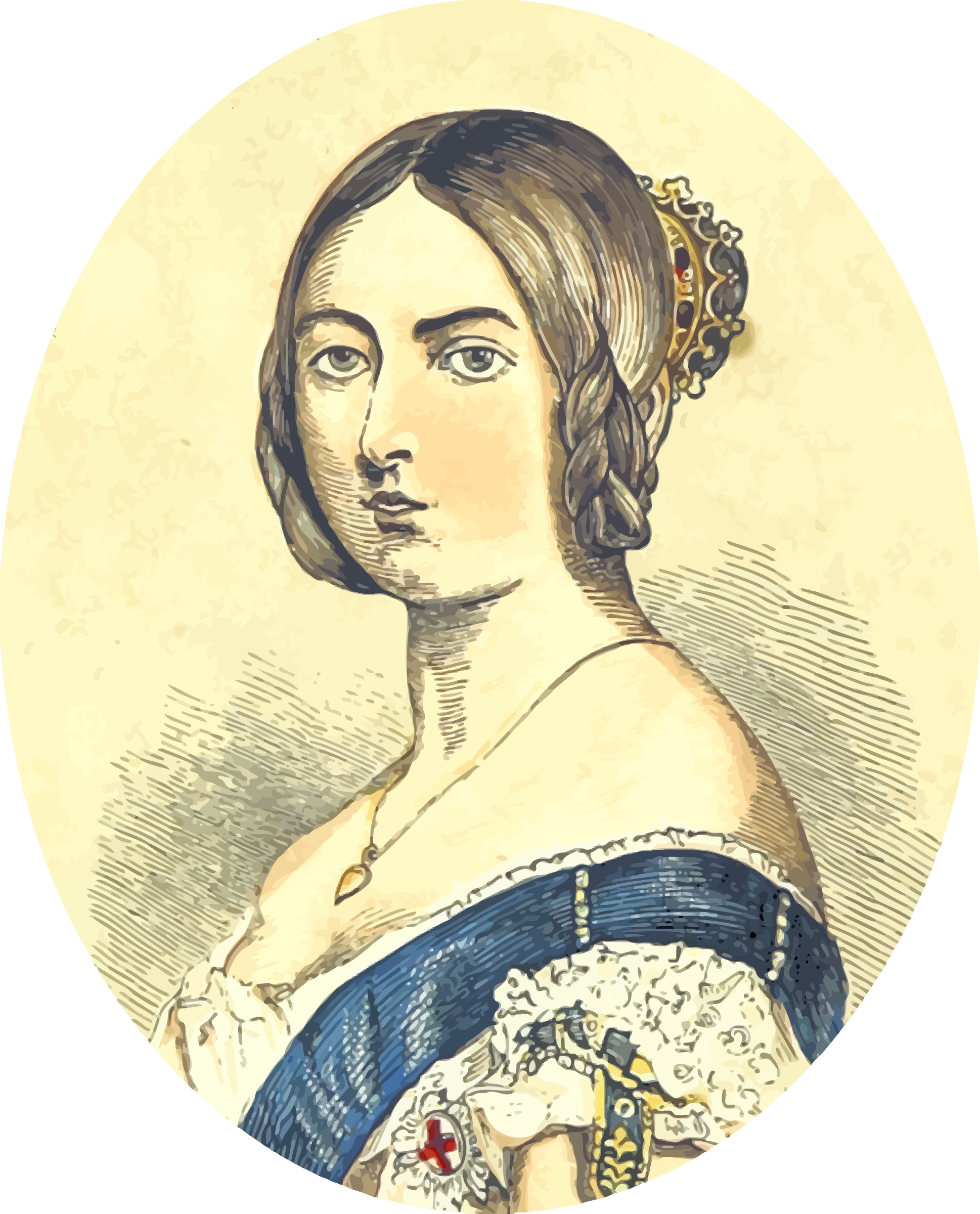 Queen clipart queen british. Victoria big image png