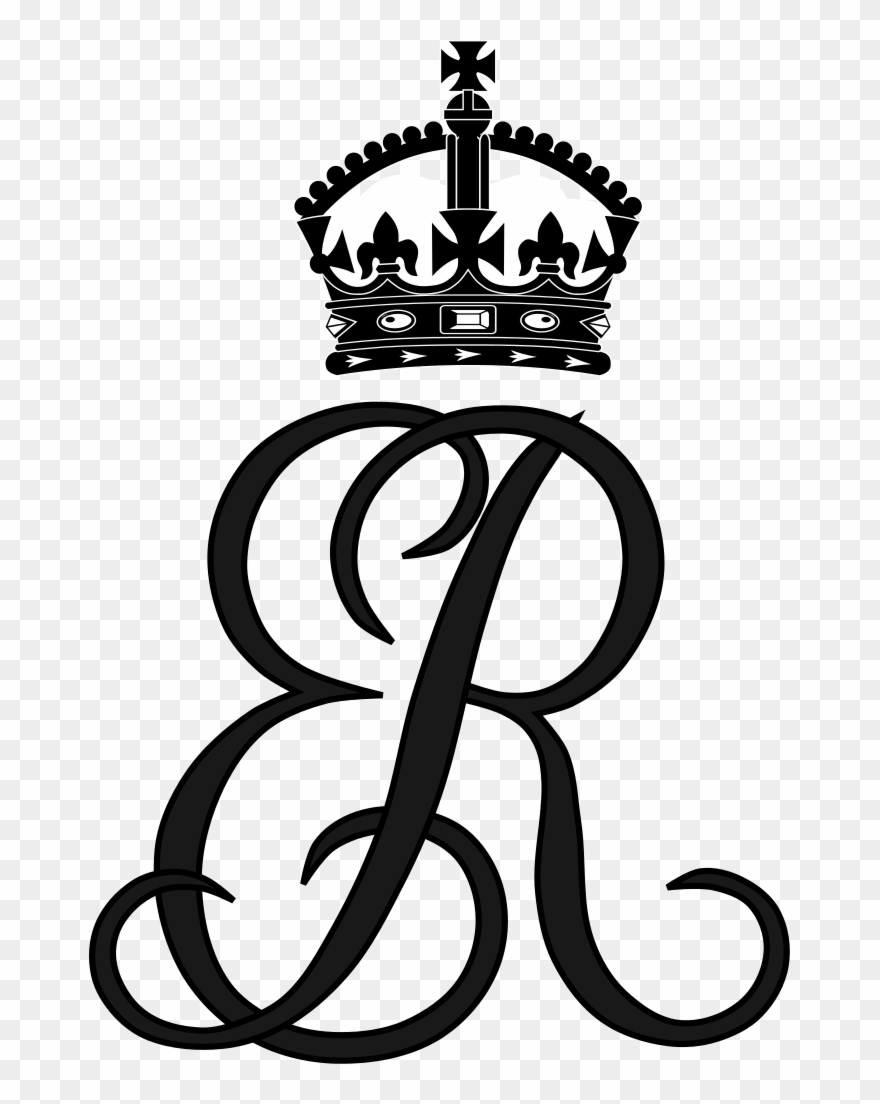 Queen clipart queen british. Royal monogram of elizabeth