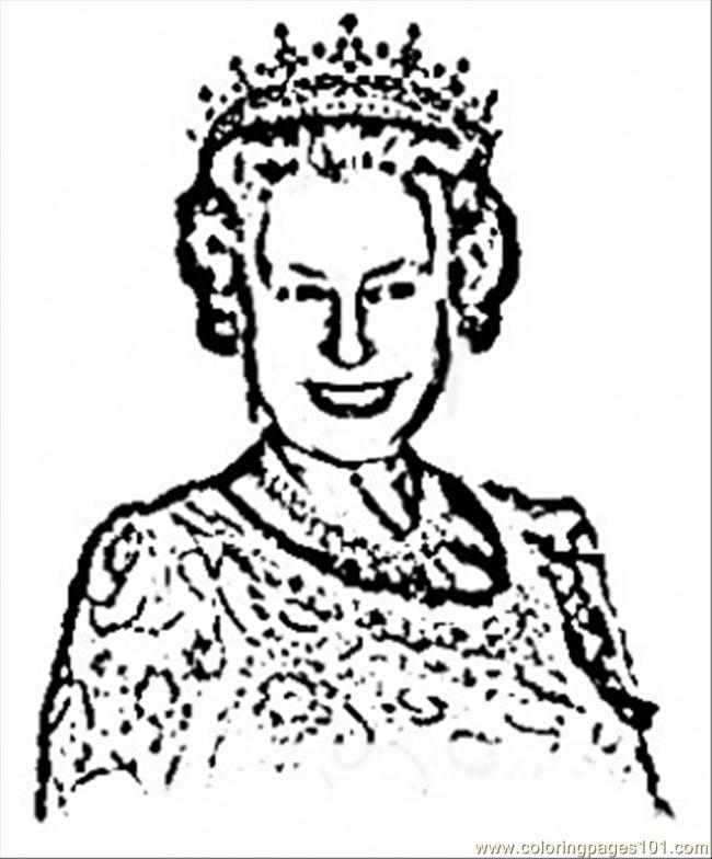 Queen clipart queen elizabeth. Ii clip art library