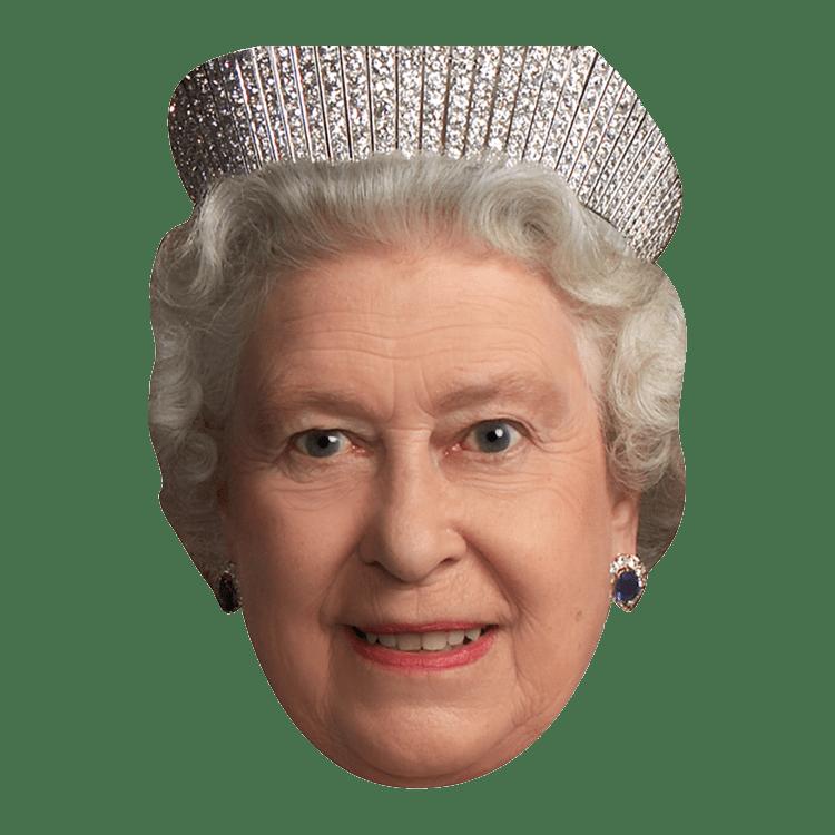 Queen clipart queen elizabeth. Face transparent png stickpng