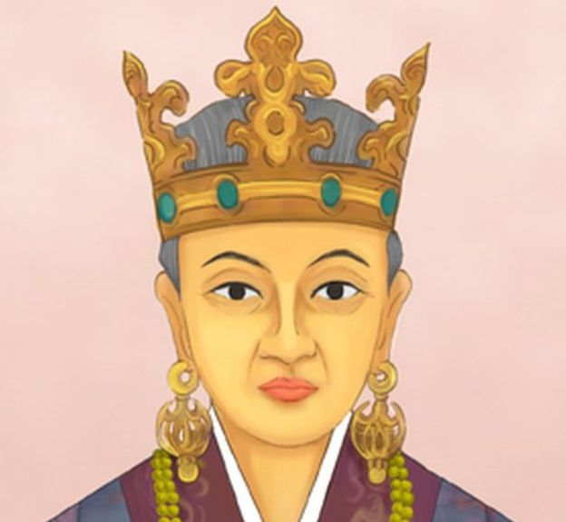 The princess who became. Queen clipart queen indian