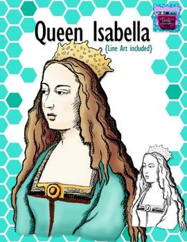 Queen clipart queen isabella. Realistic image
