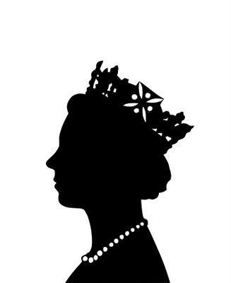 Queen clipart queen london. Queens head cut out