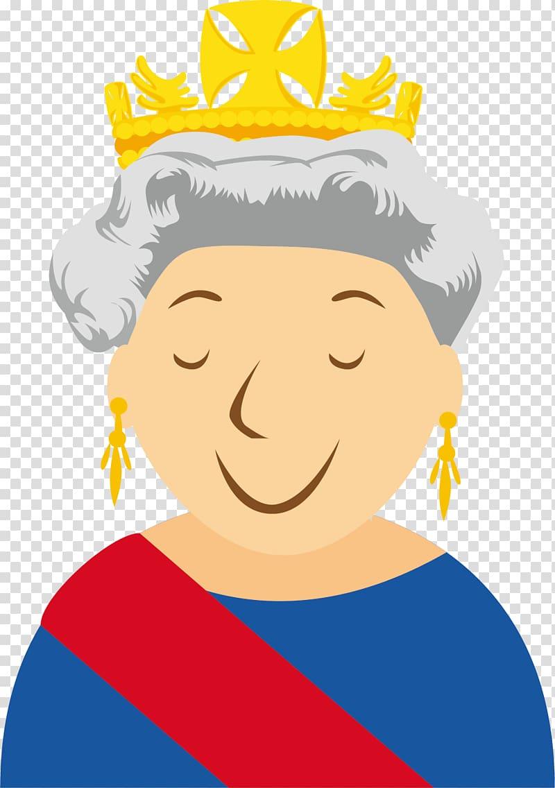 Elizabeth cartoon the of. Queen clipart queen london