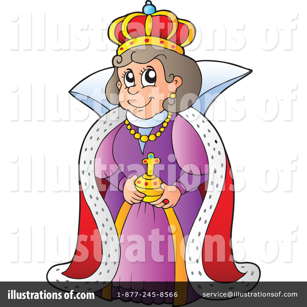 Queen clipart queen royalty. Illustration by visekart