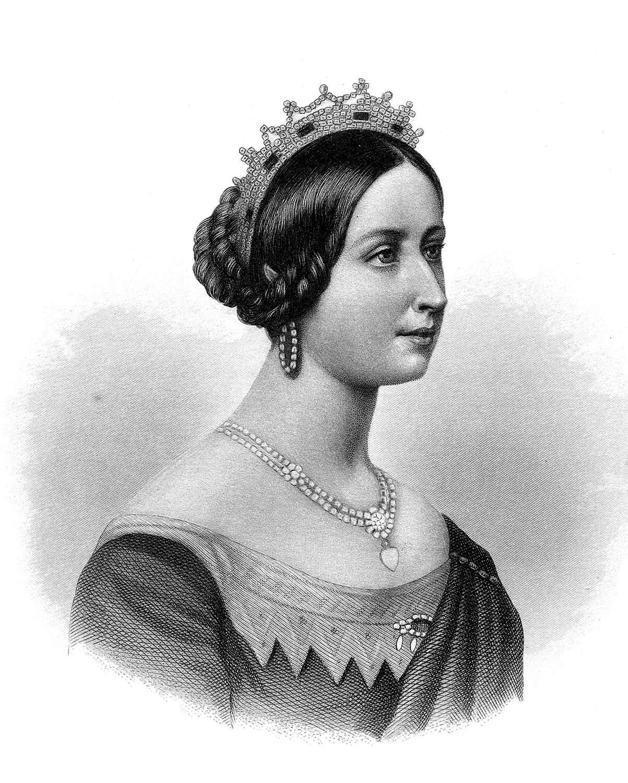 Victorian clip art young. Queen clipart queen victoria