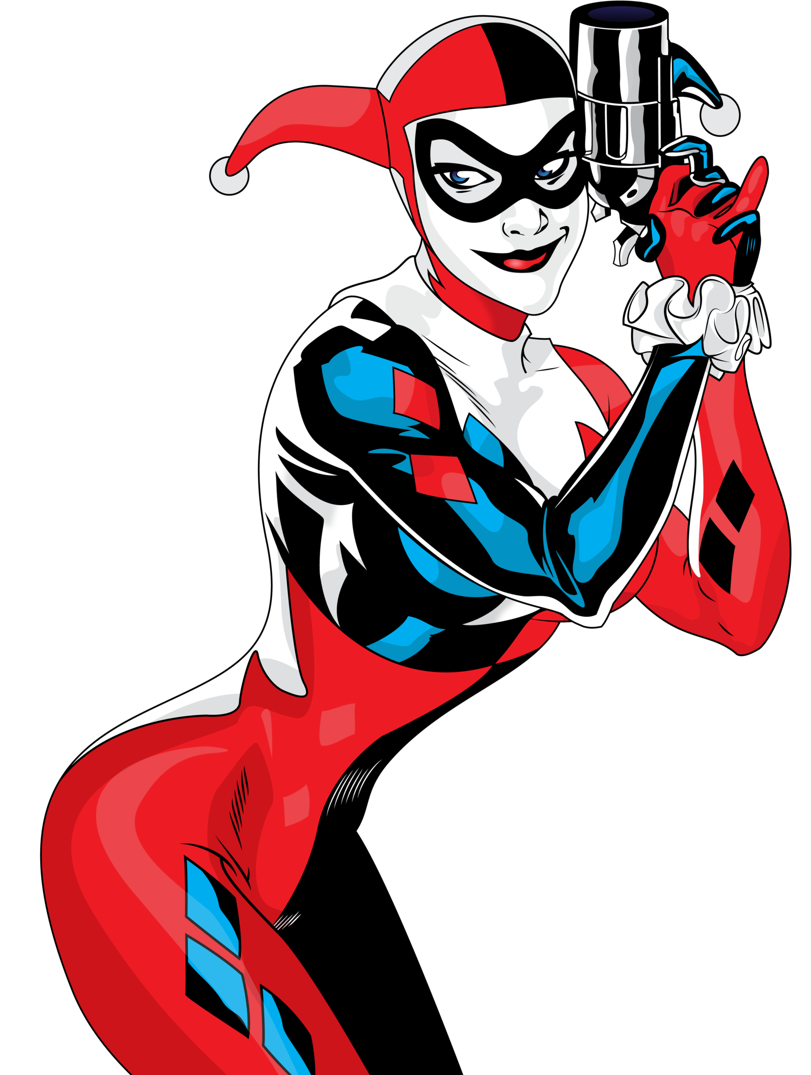 Queen clipart quin. Harley quinn png images