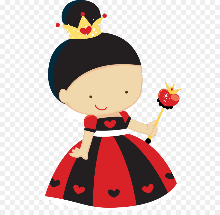 Queen clipart reina. Of hearts woman red