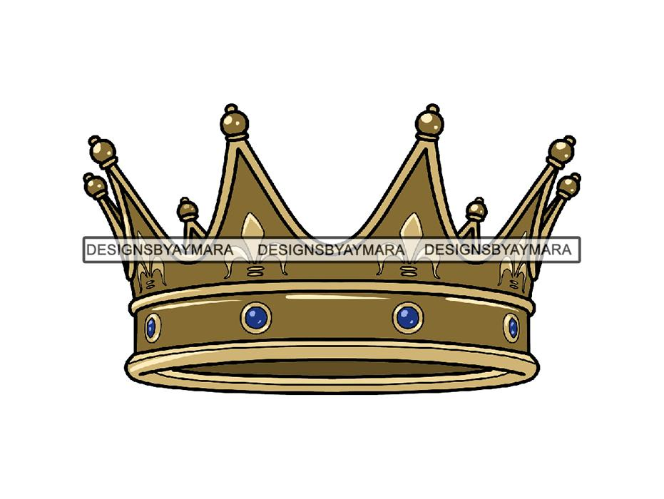 Queen clipart ruler. Gold crown king royal