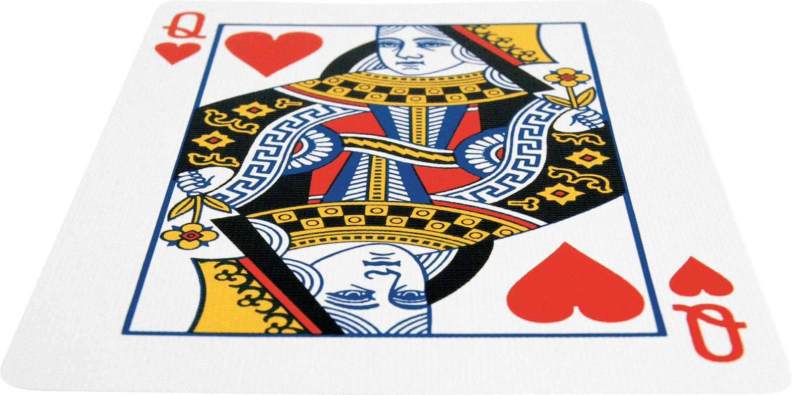 Playing game cards transprent. Queen of hearts card png