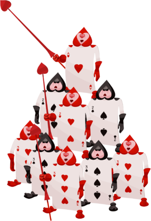 Queen of hearts card png. Playing cards kingdom wiki