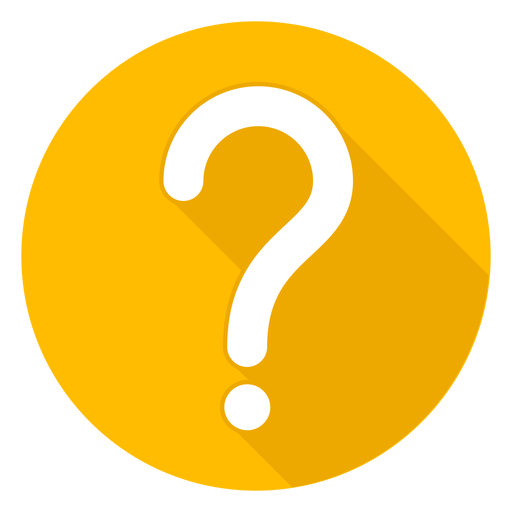 Question mark icon png. Yellow circle transparent svg
