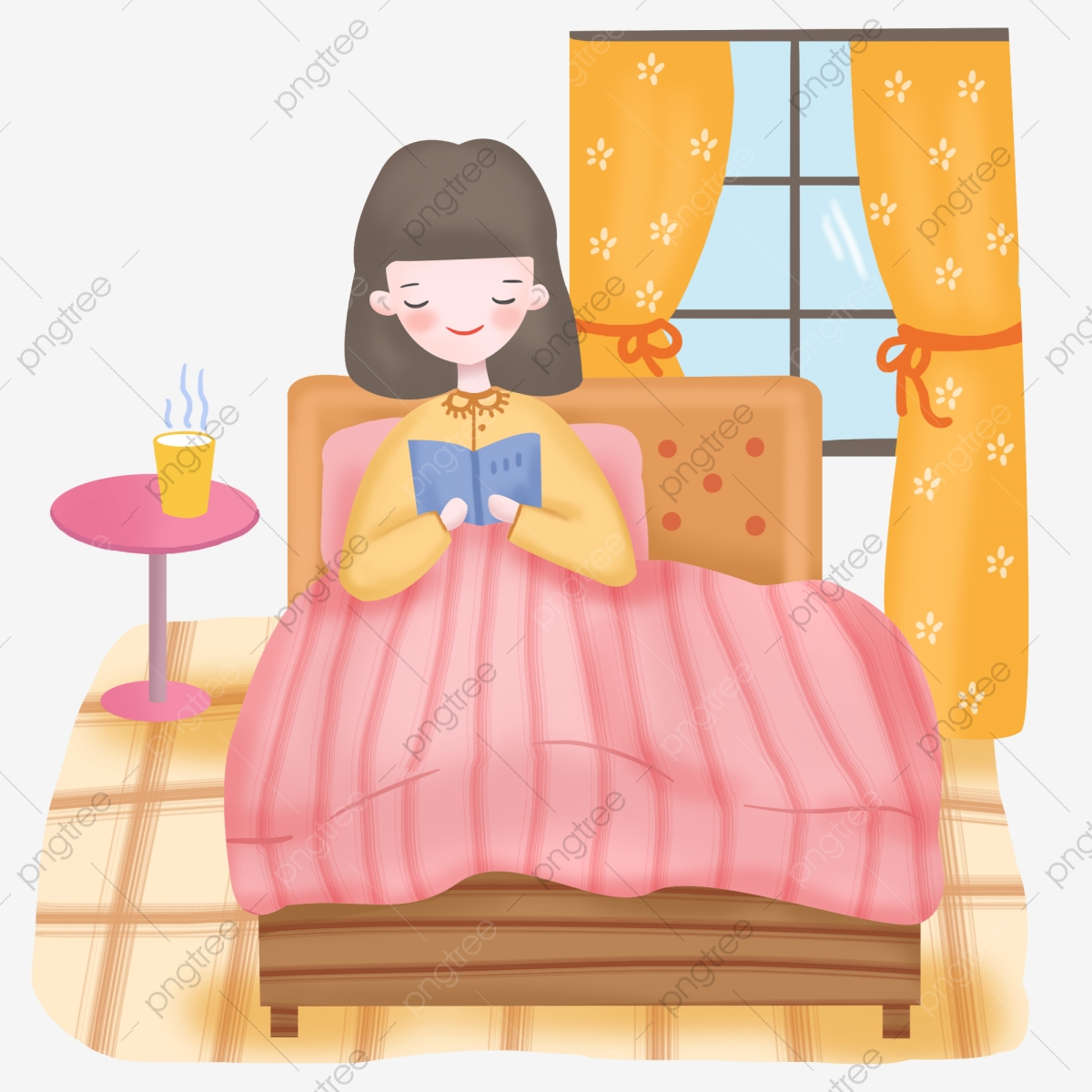 Quilt clipart bed quilt. Hand drawing a book