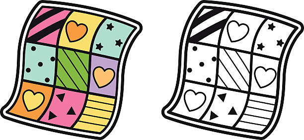 Quilting clipart cartoon. Quilt images free download
