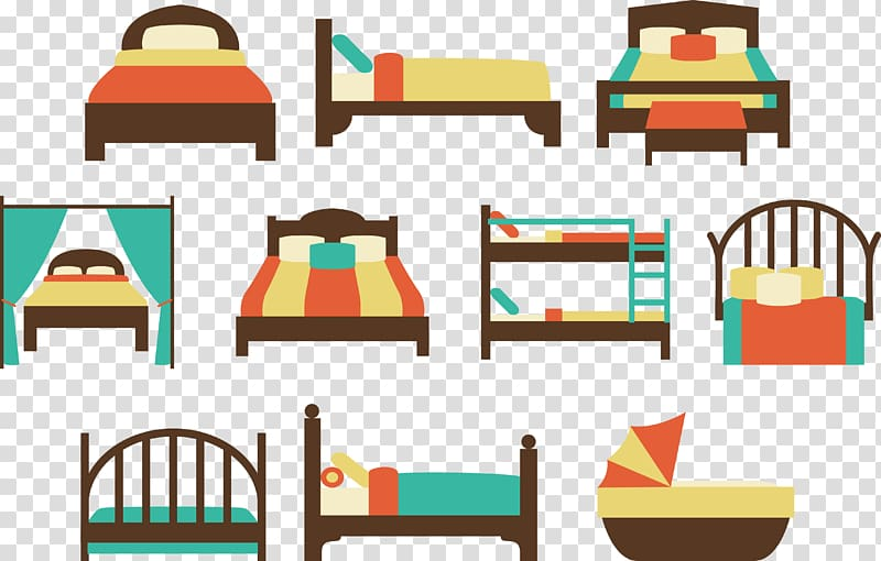 Bedroom bed size beds. Quilt clipart double room