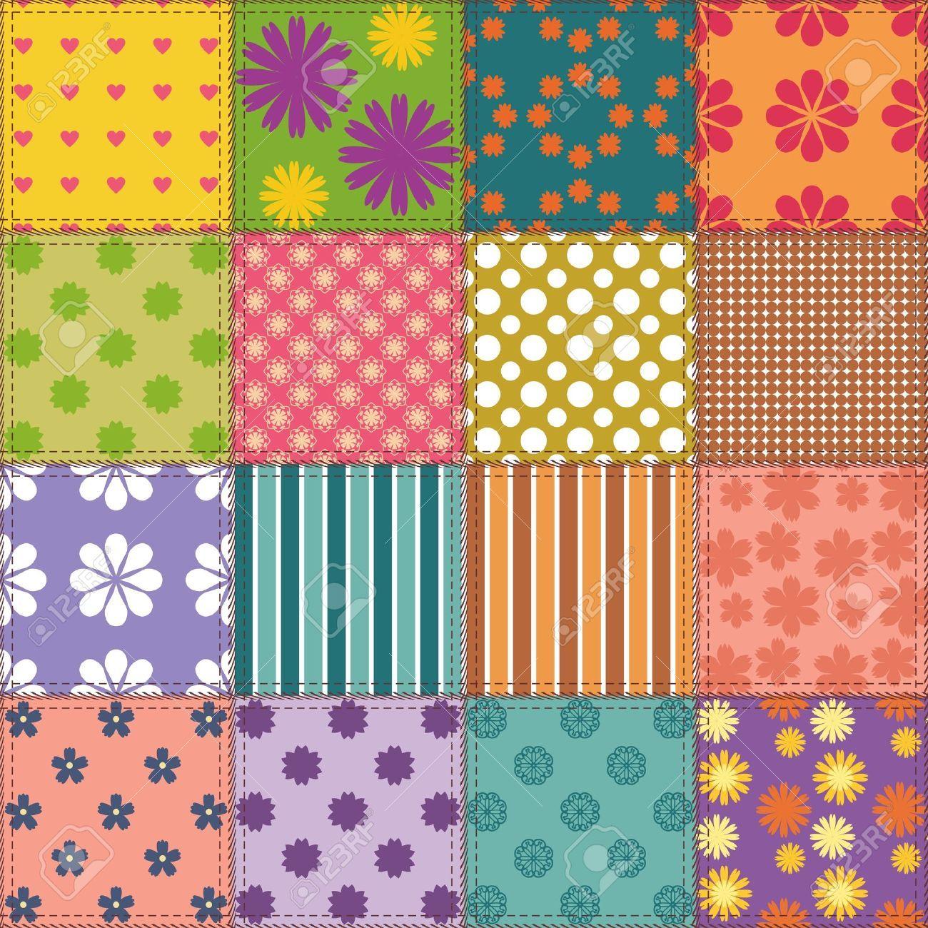 Quilt clipart quilt background. Patchwork x free clip