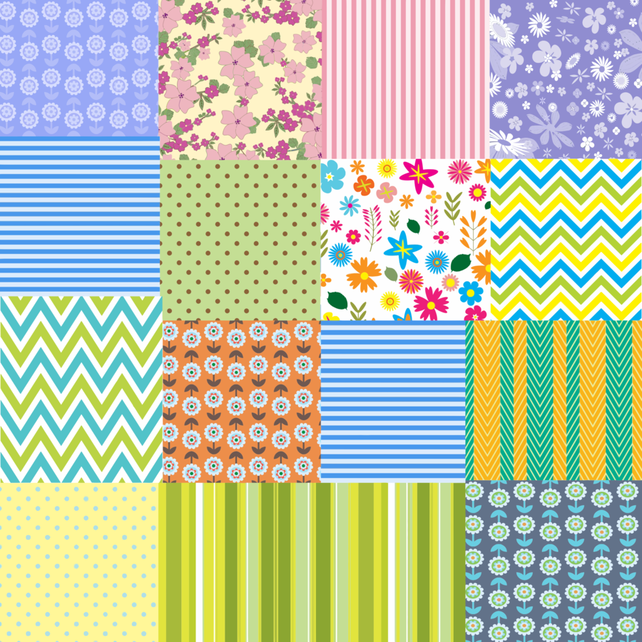 Yellow circle square rectangle. Quilt clipart quilt background