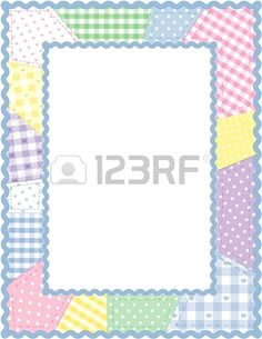 Free clip art patchwork. Quilting clipart quilt frame