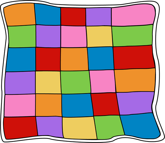 Quilt clipart quilt pattern. Quilting cliparts zone