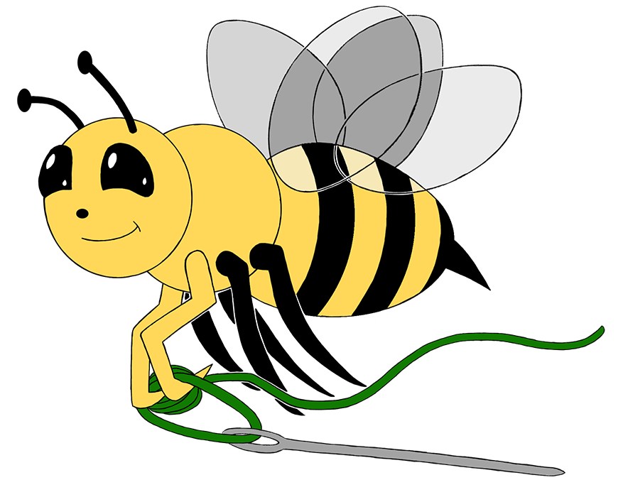 Quilting clipart quilting bee. Honeybee